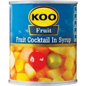 Mix de Frutas Enlatadas Koo 825