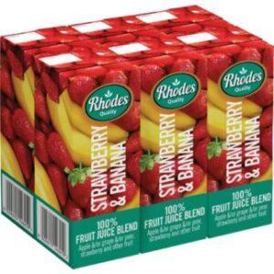 Embalagem de Sumo Rhodes