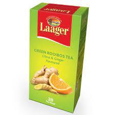 Folha de Chá Laager Citrus/Ginger-50g