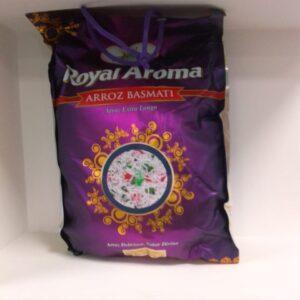 Arroz Basmati Royal Aroma -5kg
