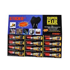 Cola tudo Super Glue Sticko
