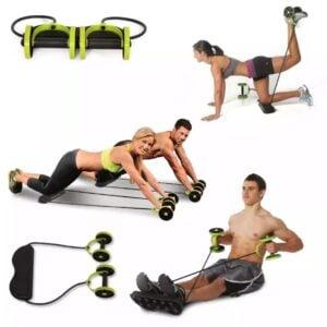 Roda de exercícios abdominais