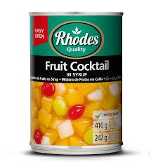 Fruit Cocktail Rhodes 410g