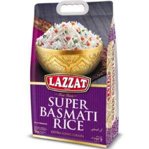 Arroz Basmati Lazzat Rice-5kg