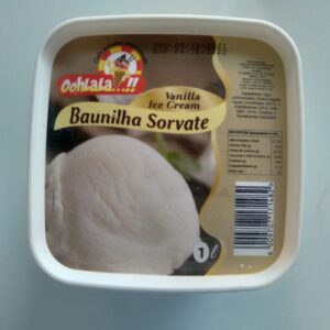 Sorvete Baunilha Oohlala-1L