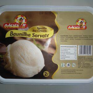 Sorvete Baunilha Oohlala-2L